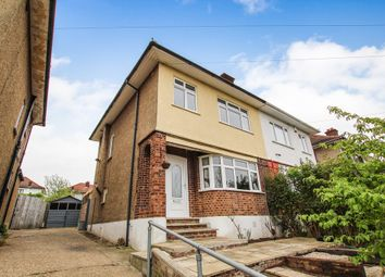 Thumbnail 3 bed semi-detached house for sale in Conifer Avenue, Collier Row, Romford