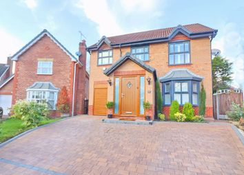 Thumbnail 4 bed detached house for sale in Redington Close, Worsley, Manchester