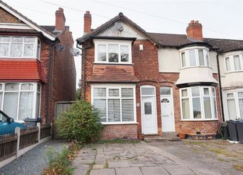 Thumbnail 3 bedroom end terrace house for sale in Reservoir Road, Erdington, Birmingham