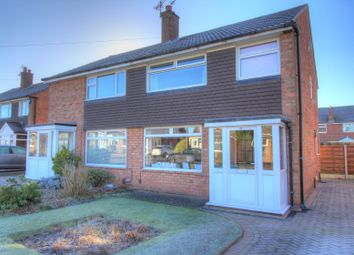 Thumbnail 3 bed semi-detached house for sale in Stirling Avenue, Hazel Grove, Stockport