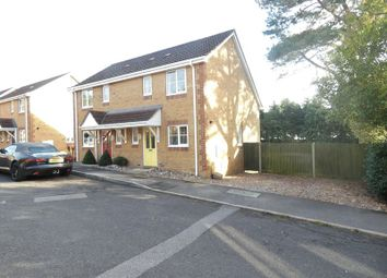 Thumbnail 2 bed semi-detached house to rent in Sunnyfield Rise, Bursledon, Southampton