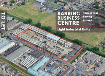 Thumbnail Industrial to let in Thames Road, Barking