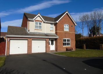 Thumbnail 4 bedroom detached house for sale in Benton Road, West Allotment, Newcastle Upon Tyne