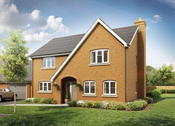 Thumbnail 3 bedroom detached house for sale in Swales Drive, Leighton Buzzard