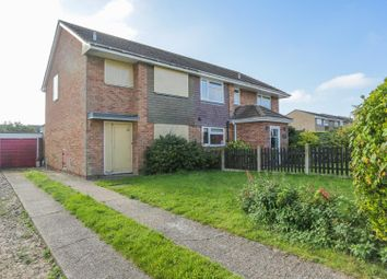 Thumbnail 3 bed semi-detached house for sale in Downside Road, Whitfield, Dover