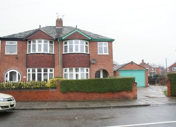 Thumbnail 3 bed semi-detached house to rent in Lansdowne Road, Hartshill, Stoke On Trent