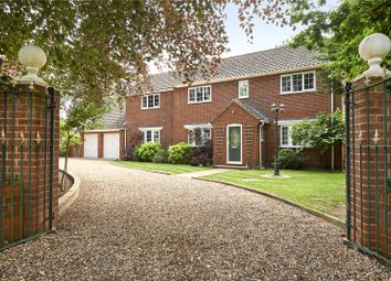 Thumbnail 5 bed detached house for sale in Mere Road, Stow Bedon, Attleborough, Norfolk