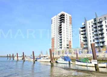 Thumbnail 1 bedroom flat to rent in The Peninsula, Pegasus Way, Gillingham
