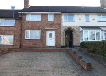 Thumbnail 3 bed terraced house to rent in Shelfield Road, Kings Heath, Birmingham.B14