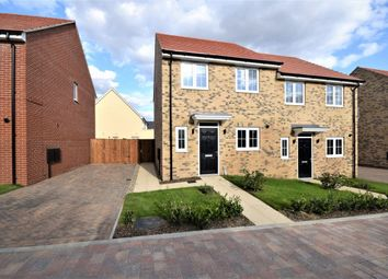 Thumbnail 3 bed semi-detached house for sale in Holly Close Bury Water Lane, Newport, Saffron Walden