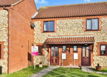 Thumbnail 2 bedroom terraced house for sale in Hares Close, Little Snoring, Fakenham