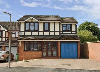 Thumbnail 4 bed detached house for sale in Asquith Drive, Heath Hayes, Cannock