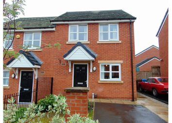 Thumbnail 2 bed semi-detached house for sale in Northcote Avenue, Oldham