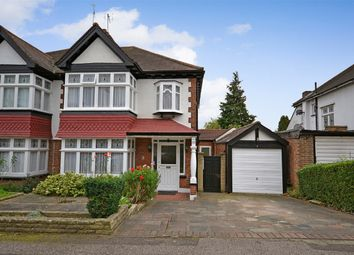 Thumbnail 3 bed semi-detached house for sale in Stapenhill Road, Wembley, Middlesex