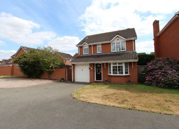 Thumbnail 3 bed detached house for sale in Padstow, Amington, Tamworth