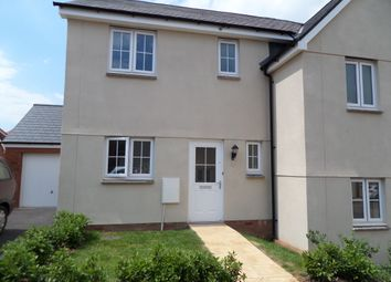 Thumbnail 3 bed semi-detached house to rent in Woods Pasture, Cranbrook, Exeter