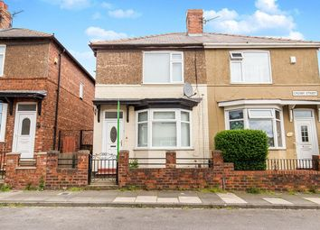 Thumbnail 2 bed semi-detached house to rent in Crosby Street, Darlington