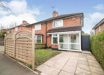 Thumbnail 3 bed semi-detached house for sale in Avebury Road, Birmingham, West Midlands