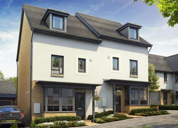 """Thumbnail 4 bedroom semi-detached house for sale in """"Woodbridge"""" at Poplar Close, Plympton, Plymouth"""