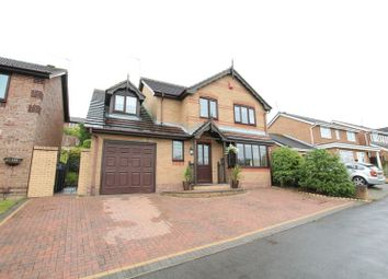 Thumbnail 4 bed detached house for sale in Thames Drive, Biddulph, Stoke-On-Trent