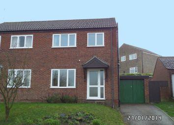 Thumbnail 3 bedroom semi-detached house to rent in Waveney Road, Bungay