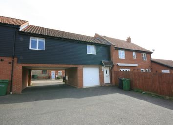 Thumbnail 2 bed terraced house for sale in Jasmine Walk, Cringleford, Freehold Coach House