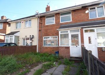 Thumbnail 2 bed terraced house for sale in Sunningdale Road, Tyseley, Birmingham, West Midlands