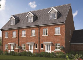 Thumbnail 3 bed town house for sale in Farrendon Court, Off Stratford Close, Aston Clinton