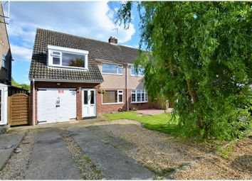 Thumbnail 3 bed semi-detached house for sale in Barnard Close, Northampton