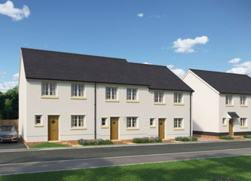 Thumbnail 3 bedroom end terrace house for sale in Ladywell Meadows, Chulmleigh, Devon