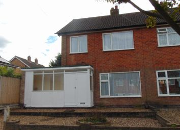 Thumbnail 3 bed semi-detached house to rent in Bambury Way, Leicester