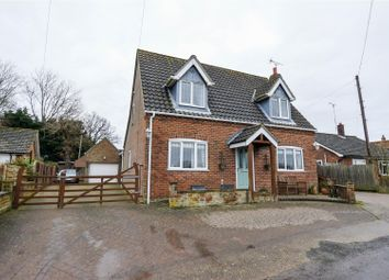 Thumbnail 4 bed detached house for sale in Church Lane, Edingthorpe, North Walsham
