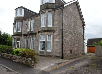 Thumbnail 2 bed flat for sale in Alexander Street, Dumbarton