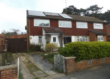 Thumbnail 4 bed semi-detached house to rent in Evergreen Road, Frimley, Surrey