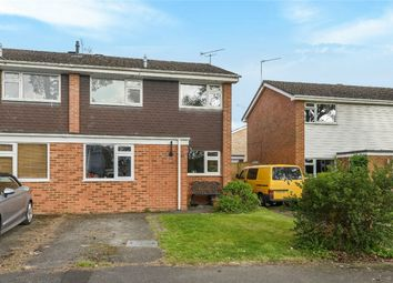 Thumbnail 3 bed semi-detached house for sale in Mornington Avenue, Finchampstead, Berkshire