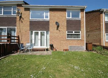 Thumbnail 2 bed flat for sale in Hamsterley Drive, Crook, Co Durham