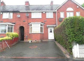 Thumbnail 3 bedroom terraced house to rent in Tyburn Road, Birmingham, West Midlands