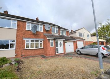 Thumbnail 5 bed semi-detached house to rent in Amesbury Road, Wigston, Leicester