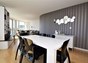 Thumbnail 2 bed flat to rent in Ontario Tower, Canary Wharf