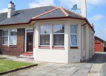 Thumbnail 2 bedroom semi-detached bungalow to rent in Moncks Road, Falkirk