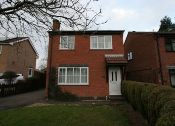 Thumbnail 3 bedroom detached house to rent in Purbeck Avenue, Loughborough