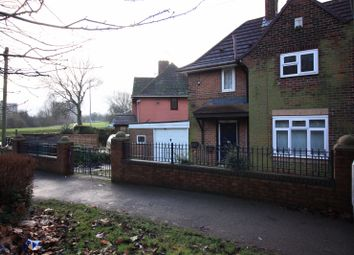Thumbnail 2 bed semi-detached house to rent in Wykebeck Valley Road, Leeds