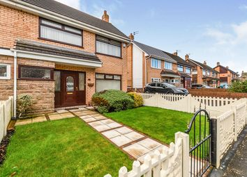 Thumbnail 3 bed semi-detached house for sale in Hunt Road, Haydock, St. Helens, Merseyside