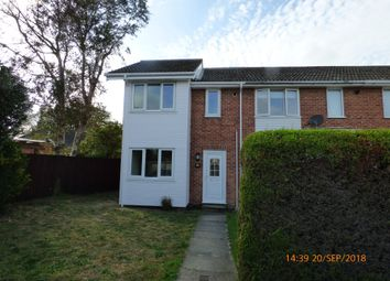 Thumbnail 2 bed terraced house to rent in Catchpole Close, Kessingland, Lowestoft