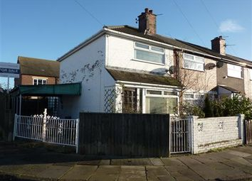 Thumbnail 2 bed end terrace house for sale in Saunby Grove, Cleethorpes