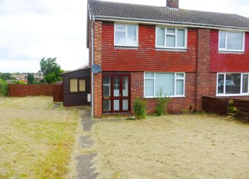 Thumbnail 3 bed semi-detached house to rent in Dysart Road, Grantham