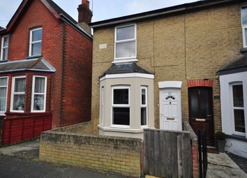 Thumbnail 2 bed end terrace house to rent in Tennyson Road, Cowes