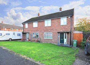 Thumbnail 3 bed semi-detached house for sale in Essex Close, Worcester
