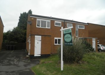 Thumbnail 3 bedroom semi-detached house to rent in Welshmans Hill, Sutton Coldfield