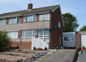 Thumbnail 3 bed semi-detached house to rent in Landor Avenue, Killay, Swansea